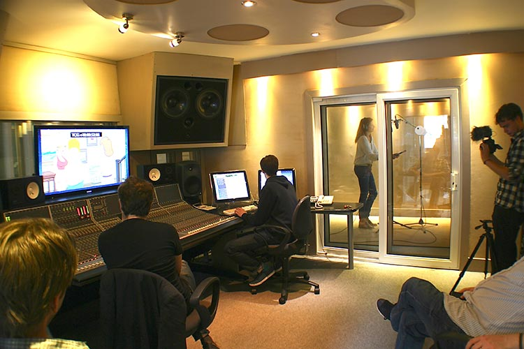 'London international voiceover recording studio'