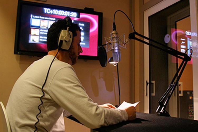 'voiceover recording'