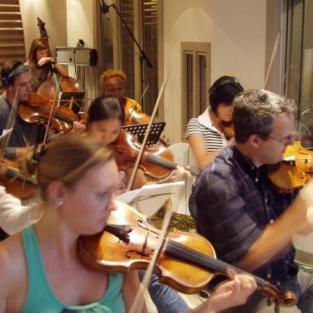 String Section Recording Studio
