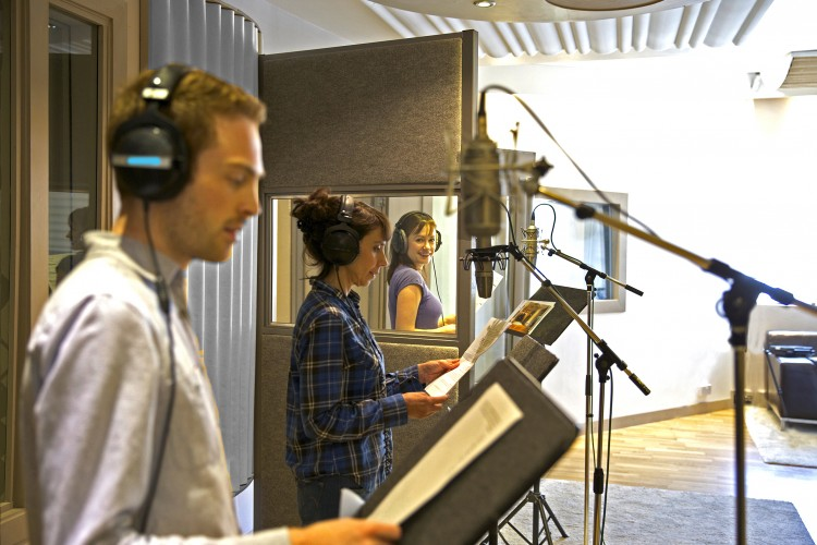 Voice Overs + Post Production London // Sonica Studios