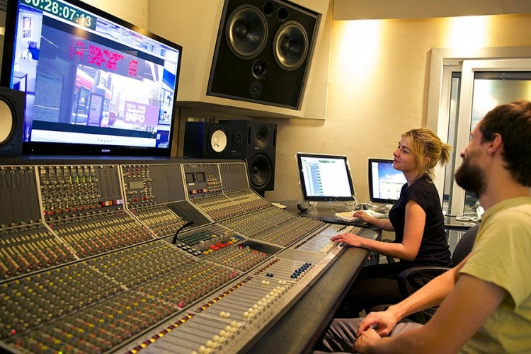 voice overs post production london sonica studios