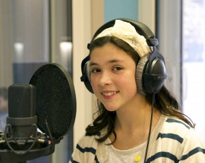 Childrens dialogue recording